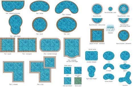 layout elements design landscape plan