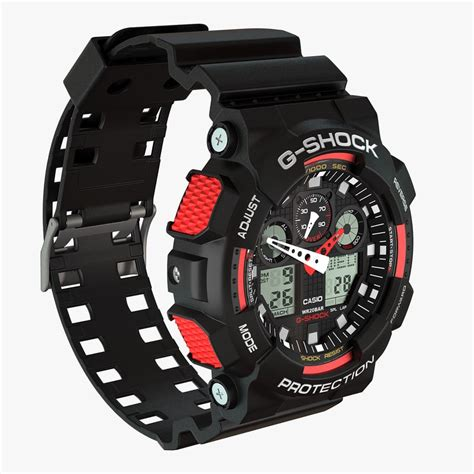 Casio G Shock Gax100 casio g shock ga 100 1 3ds