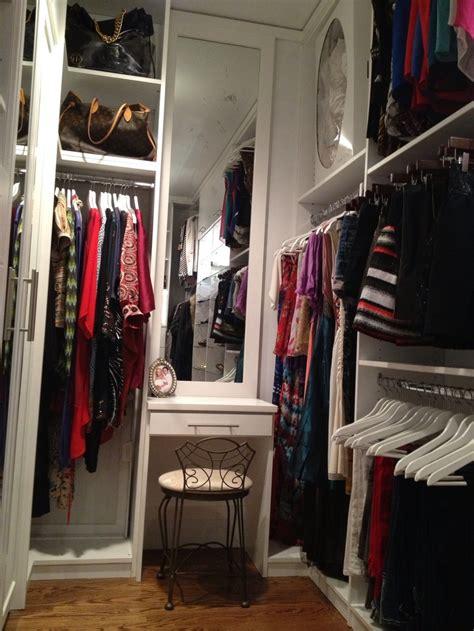 Closet Vanity by White Closet Vanity Organized