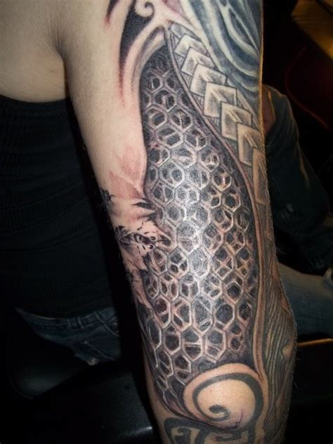 honeycomb tattoo honeycomb tattoos designs ideas and meaning tattoos for you
