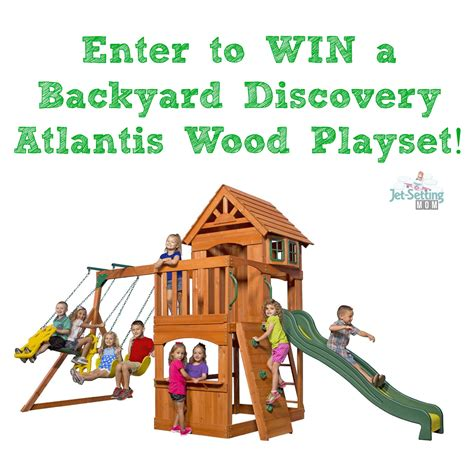 Backyard Discovery Linkedin Swing Into With A New Wooden Swing Set It S Free