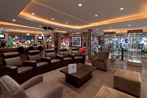 Basement man cave design ideas home theater traditional