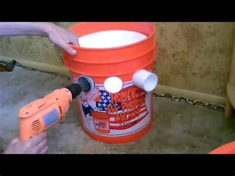 cara membuat ac dengan kipas angin es batu dan ember