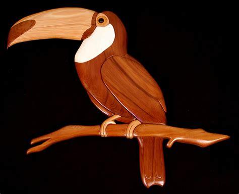 scroll woodwork wildlife intarsia patterns