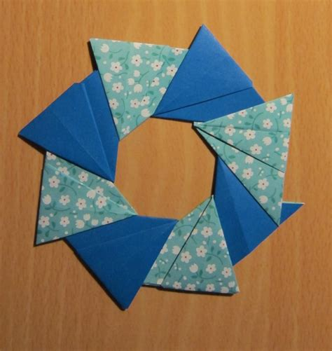review origami rings and wreaths by tomoko fuse spark