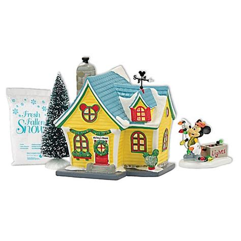 bed bath and beyond christmas eve hours enesco department 56 174 disney village set www
