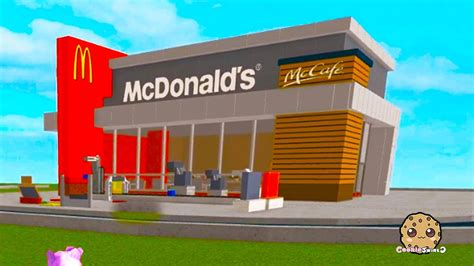 Build A Building Online | roblox mcdonalds tycoon building a fast food restaurant
