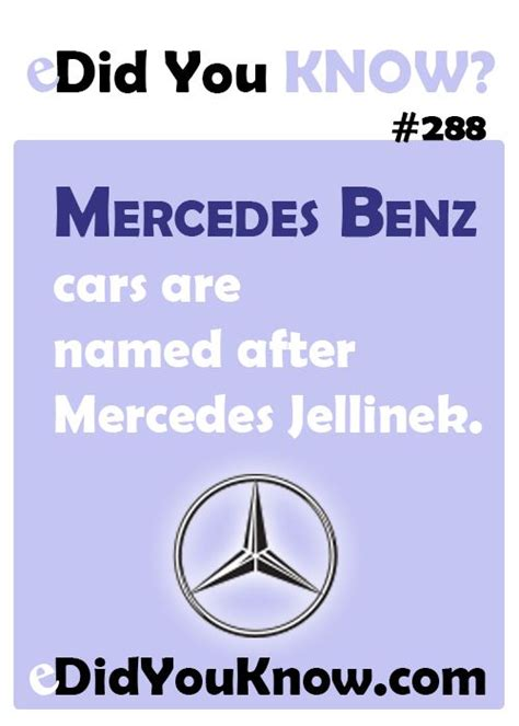who was mercedes named after 108 best brands images on random facts