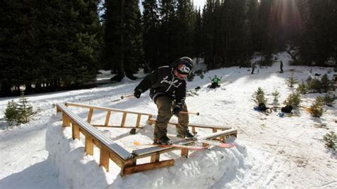 backyard skiing line traveling circus does some diy backyard skiing