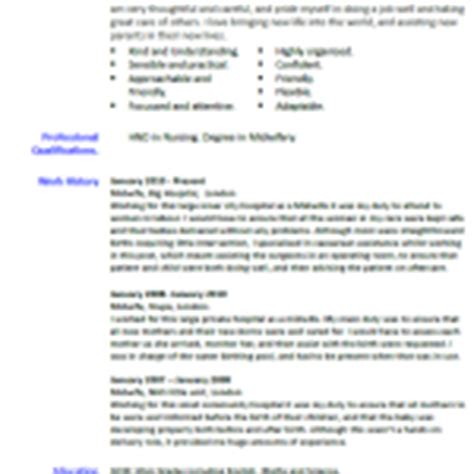 application letter for midwife cv exles archives page 3 of 15 cover letter and cv