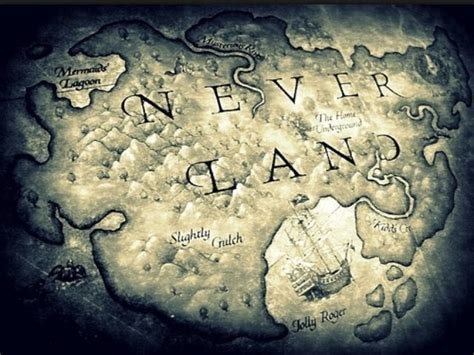 neverland map neverland map mermaids tales