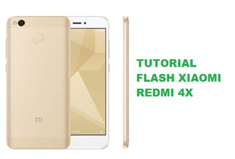 tutorial flash redmi 4x cara flash xiaomi redmi 4x terminal android