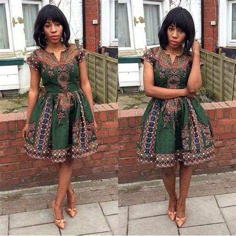 Simple Ankara Gown For Ladies