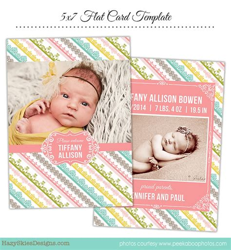 birth announcements card templates 71 best images about birth announcement templates family