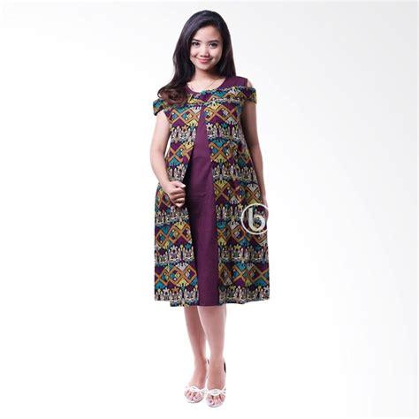Dress Sabrina Etnik jual bolero batik etnik sabrina cantik baju