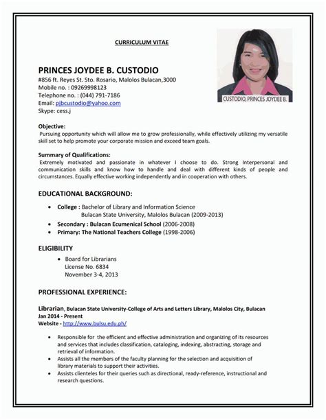 Resume And Cv Are They The Same 210 Best Images About Sle Resumes On Business Resume Sle Of Cover Letter And