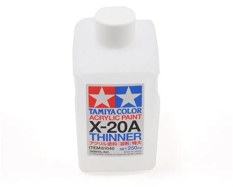 Tamiya Acrylic Thinner 46ml tamiya x20a acrylic paint thinner 250ml tam81040