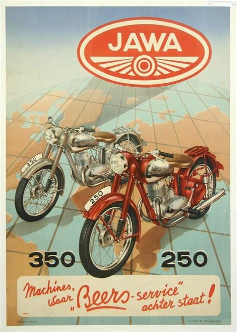 Plakat Reklamowy by Plakat Reklamowy Jawa 250 350 Niemiecki Posters