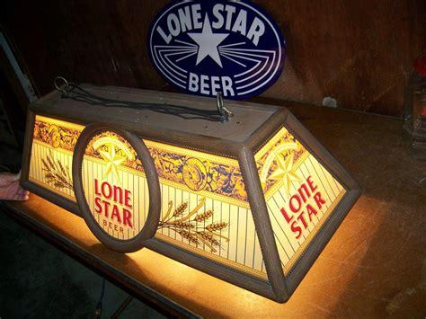 beer pool table lights vintage lone star beer pool table light 41 quot x 17 quot x14