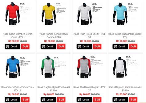 Special Kaos Polos Katun Wanita O Neck 81401b T Shirt Paling Murah jual kaos polos cek harga di pricearea
