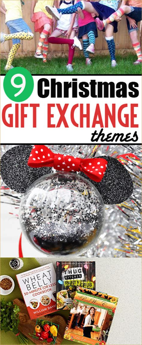 9 christmas gift exchange themes