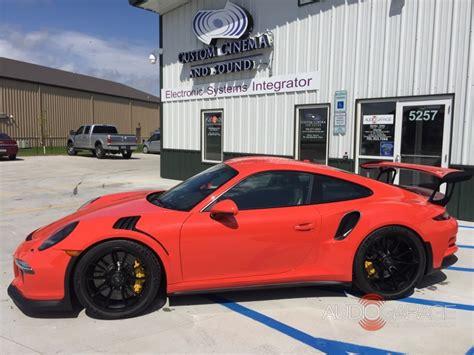 Audio Garage Fargo Nd by 2016 Porsche Gt3rs The Audio Garage