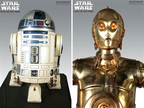 real r2d2 robot for sale sideshow collectibles life size r2 d2 c 3po ohgizmo