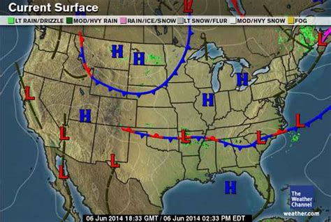 us weather map high and low pressure weather journal