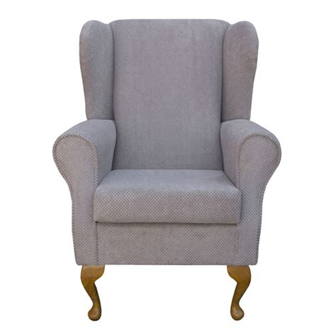 small wingback chair wing back fireside armchair small westoe orthopaedic in