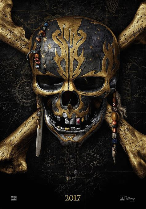 of the caribbean of the caribbean dead tell no tales teaser poster