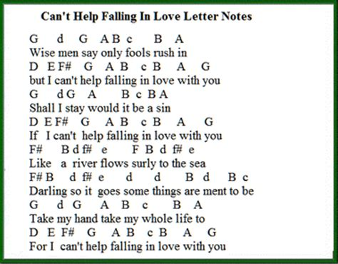 Letter You Are My World Can T Help Falling In Tin Whistle Sheet Folk Songs