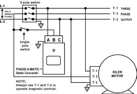 ronk phase converter wiring diagram wiring diagram and