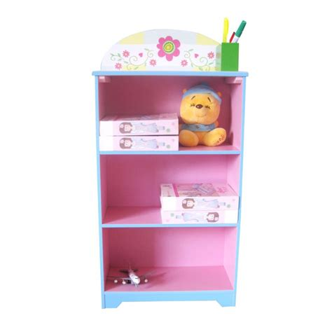 pink flower themed storage bookcase bookshelf buy