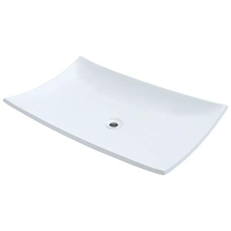 mr direct vessel sinks mr direct porcelain vessel sink in white v360 w the home