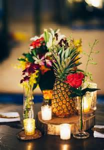 centerpieces ideas best 20 pineapple centerpiece ideas on