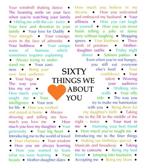 things that are 60 60 things we love about you diamond edition download