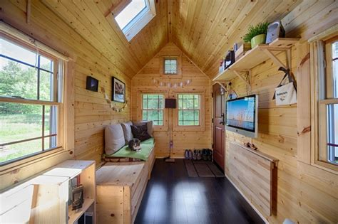 tiny house interior design ideas mobile tiny tack house is entirely built by hand and
