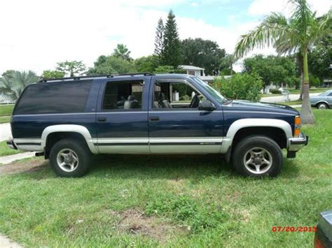 find used 1995 chevy suburban 1500 4x4 6 5 turbo diesel