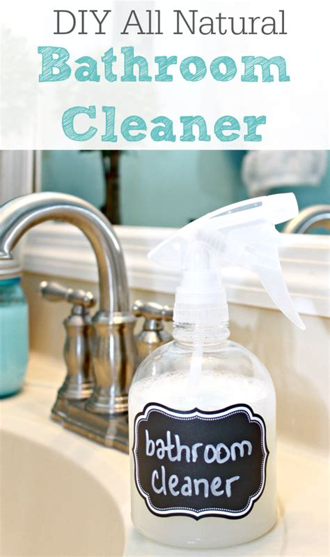homemade natural bathroom cleaner homemade bathroom cleaner all natural mom 4 real