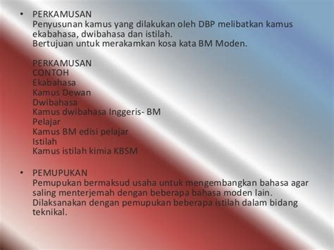 Beberapa Aspek Linguistik Indonesia bahasa melayu pasca merdeka