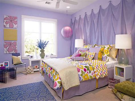 bedrooms ideas for girls bedroom image of teenage room ideas purple wall paint