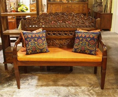 indonesian teak bench 230 best images about gado gado indonesian furniture