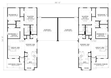 24 pictures small duplex houses house plans 77572 24 best duplex plans images on pinterest duplex floor