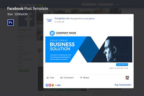 10 Facebook Ad Templates Business Discount Sale Motivation Free Premium Templates Ad Post Template