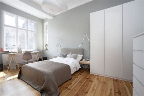 minimalist bedrooms small apartment in poznan poland showcases cool