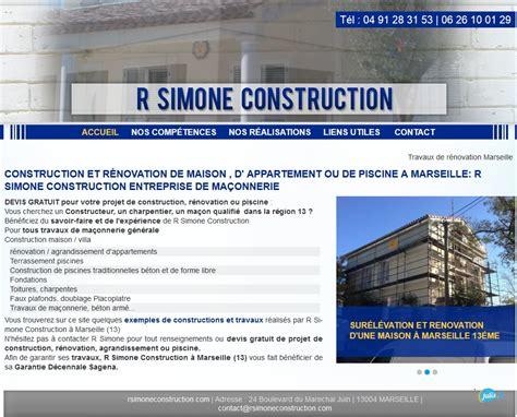 Devis Maconnerie En Ligne Gratuit 4241 by Travaux De R 233 Novation Et Ma 231 Onnerie G 233 N 233 Rale Sur Marseille