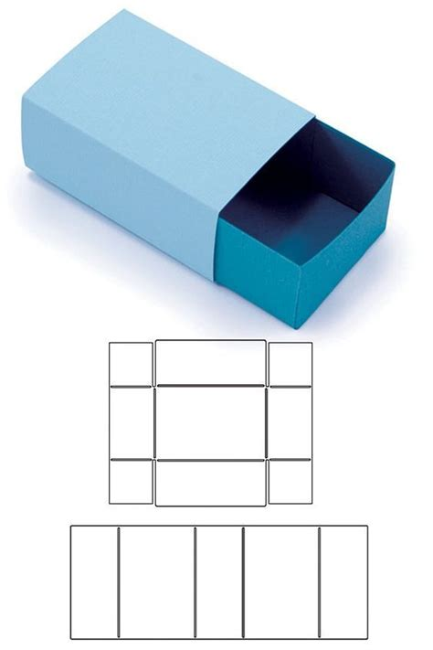 templates for paper gift boxes 17 best ideas about matchbox template on pinterest