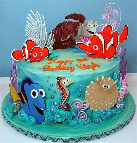How To Make Birthday Decoration At Home by Birthday Cakes Images Finding Nemo Birthday Cake Theme