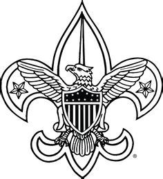 eagle scout coloring page boy scout logo printable