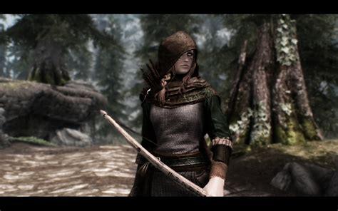 skyrim nexus mods and community grace darklings ranger armor v3 at skyrim nexus mods and